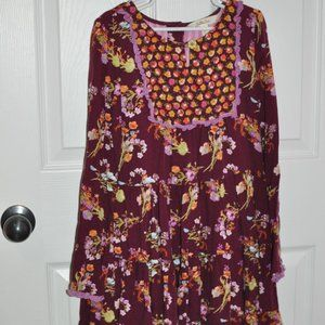 EUC Size 10 Twirl Me Matilda Jane Dress MJC Fall